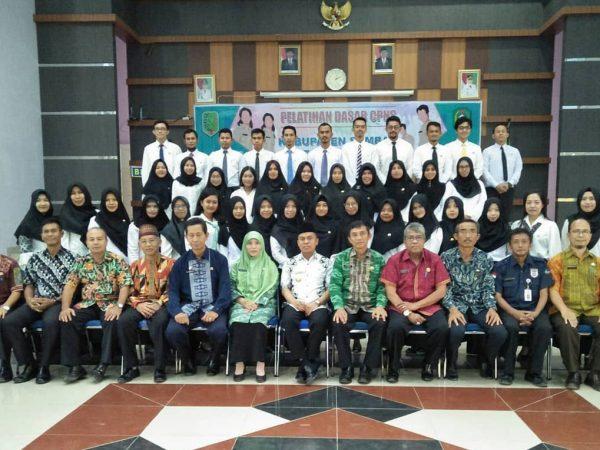 Penutupan Diklatsar CPNS Golongan III Angkatan XVII Provinsi Kalimantan Barat di Kabupaten Sambas