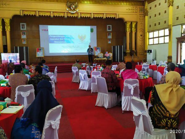 Rapat Koordinasi Kepegawaian di Lingkungan Pemerintah Kabupaten Sambas Tahun 2020