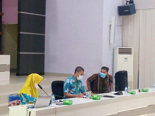 Sosialisasi Penyusunan Laporan Kinerja Bulanan di Lingkungan Pemerintah Kabupaten Sambas Tahun 2021